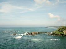 Vista escénica del mar contra el cielo Fotografía de archivo