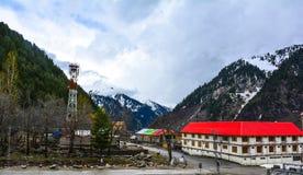 Vista escénica del valle de Naran, Paquistán Imagen de archivo libre de regalías
