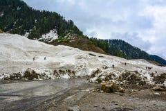 Vista escénica del valle de Naran, Paquistán Fotos de archivo