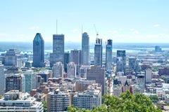 vista escénica del verano Montreal Fotos de archivo