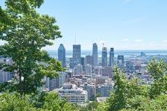 vista escénica del verano Montreal Imagenes de archivo