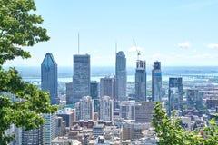 vista escénica del verano Montreal Fotografía de archivo