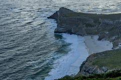 Vista escénica a la playa de Díaz de Cabo de Buena Esperanza Fotografía de archivo libre de regalías
