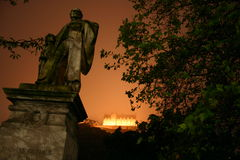 Vista escocesa Edimburgo Fotografia de Stock Royalty Free