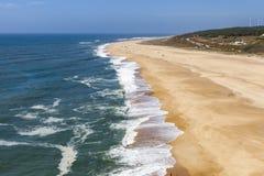 Vista espectacular de la costa costa Fotografía de archivo libre de regalías
