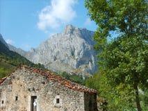 Vista espetacular da montanha Fotos de Stock Royalty Free