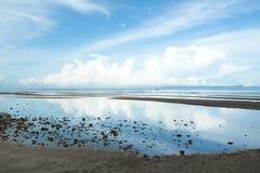 Vista esplosa della spiaggia della Cambogia Fotografia Stock Libera da Diritti