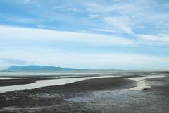Vista esplosa della spiaggia della Cambogia Immagine Stock Libera da Diritti