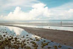 Vista esplosa della spiaggia della Cambogia Immagini Stock