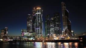 Vista estática na cidade de Moscou vídeos de arquivo