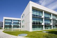 Vista esterna degli edifici per uffici del centro della città Fotografie Stock Libere da Diritti