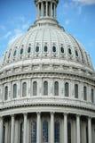 Vista esterna del primo piano degli Stati Uniti Campidoglio fotografie stock