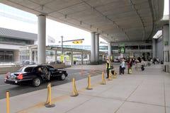 Vista esterna dell'aeroporto di Toronto fotografia stock