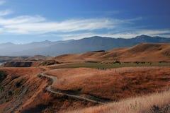 Vista excitante de Kaikoura, Nova Zelândia Imagem de Stock