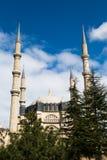 Vista exterior de la mezquita de Edirne Selimiye Fotografía de archivo libre de regalías