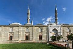 Vista exterior de la mezquita de Selimiye construida entre 1569 y 1575 en la ciudad de Edirne, Tracia del este, Turke fotos de archivo libres de regalías