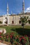 Vista exterior de la mezquita de Selimiye construida entre 1569 y 1575 en la ciudad de Edirne, Tracia del este, Turke imagen de archivo