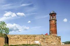 Vista exterior de la torre de Tray Minaret o de reloj fotos de archivo libres de regalías