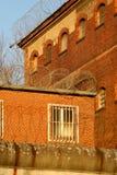 A vista exterior de uma cadeia velha Imagem de Stock