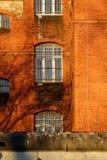 A vista exterior de uma cadeia velha Fotografia de Stock Royalty Free