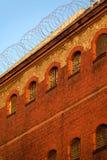 A vista exterior de uma cadeia velha Fotos de Stock Royalty Free