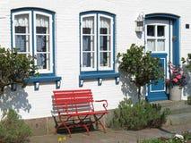 Vista exterior de uma casa Foto de Stock