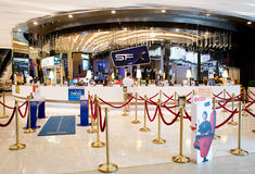 Vista exterior do cinema Rama 9 de SFX Foto de Stock Royalty Free