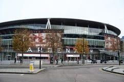 Vista exterior do Emirates Stadium Foto de Stock