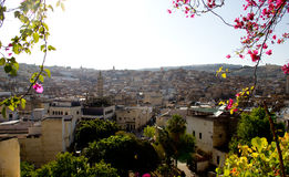 Vista of Fes Royalty Free Stock Photography