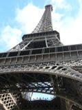 Vista fino alla torre di Eifel Fotografia Stock Libera da Diritti