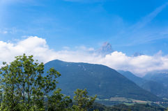 Vista francese dei alpes Fotografie Stock