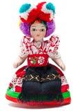 Vista frontal da boneca de Matyo foto de stock