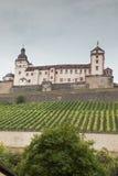 Vista frontal de Schloss Marienberg fotos de stock