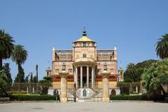 Vista frontale cinese di palazzina di Palermo Fotografia Stock