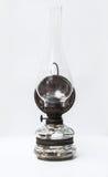 Vista frontale d'annata della lampada di gas dell'Europa Orientale Fotografia Stock