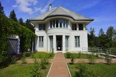 Vista frontale del blanche di Maison da Le Corbusier, La Chaux-de-Fonds Immagini Stock Libere da Diritti