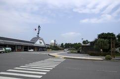 Vista frontale dell'aeroporto di Taitung Fotografia Stock Libera da Diritti