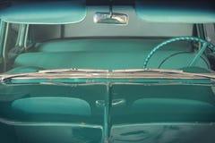 Vista frontale dell'automobile d'annata Fotografie Stock
