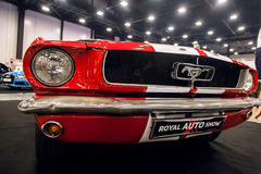 Vista frontale dell'automobile Ford Mustang classico GT 390 Fotografia Stock