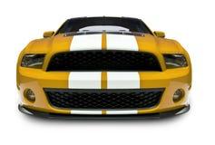Vista frontale dell'automobile sportiva Fotografia Stock