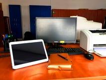 Vista frontale dell'ufficio Fotografia Stock