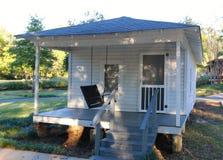 Vista frontale della casa di infanzia di Elvis Presley Fotografie Stock