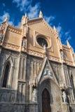 Vista frontale della cattedrale di Gaeta Immagine Stock Libera da Diritti