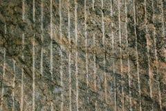 Vista frontale della superficie della roccia Immagine Stock