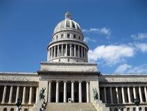 Vista frontale di Capitolio Fotografie Stock Libere da Diritti