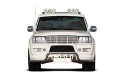 Vista frontale di SUV Immagini Stock Libere da Diritti