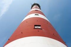 Vista frontale di un faro olandese Fotografia Stock Libera da Diritti