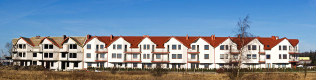 Sviluppo residenziale Immagine Stock