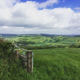 Vista in Galles Fotografia Stock Libera da Diritti