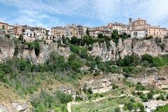 Vista general de la ciudad de Cuenca por la mañana. Castilla-La Mancha, Imagenes de archivo